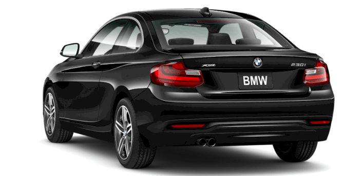 2017 BMW 230i xDrive Coupe 's mighty inline 4-cylinder TwinPower Turbo. Displacing just 2.0 liters, this 248-hp marvel generates 258 lb-ft of torque from 1450-4800 rpm for potent thrust that kicks in right from the start