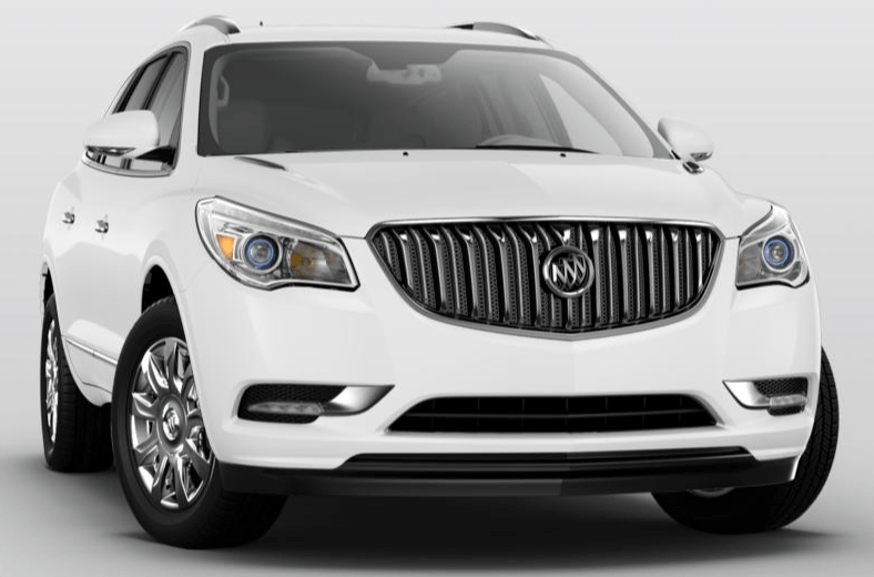 "The first thing you'll feel in the mid-size 2017 Buick Enclave Convenience FWD is a sense of openness. A ""low and away"" instrument panel keeps controls easily within reach. Premium materials, available leather-appointed seating, warm wood tones"