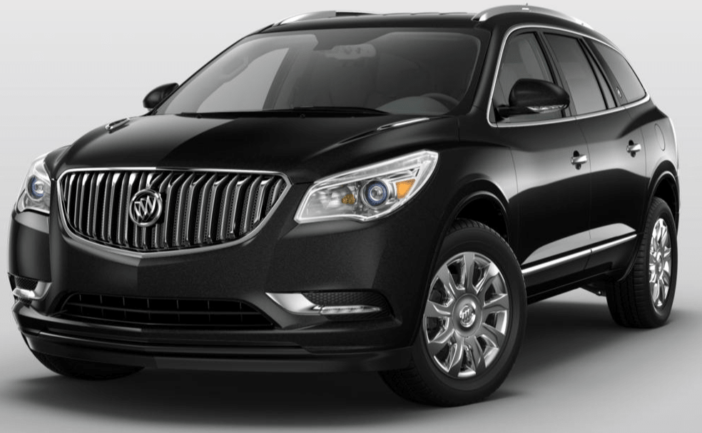 The luxurious 2017 Buick Enclave Leather FWD crossover SUV remembers driver seat and outside mirror positions for up to two drivers, saving the information in the Enclave remote-entry key fob so everything is just as it should be when you take the wheel.