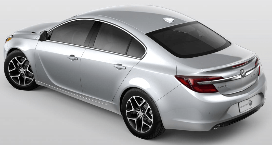 The 2017 Buick Regal Sport Touring FWD 's bold lines let you know it's as eager as you are for every hairpin turn and lengthy straightaway. Design details like chrome accents and dual