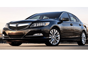 The Acura RLX is a full-size luxury sedan manufactured by Honda and sold under their Acura division, released in 2013. Succeeding the Acura RL, the RLX offers two versions, a front-wheel drive base model equipped with Acura's Precision All-Wheel Steer (P-AWS) four-wheel steering system, and a hybrid variant featuring SH-AWD. The RLX was unveiled at the 2012 Los Angeles Auto Show and went on sale on March 15, 2013. Production of the RL ended at the Saitama facility on June 16, 2012, to begin factory changeover to the RLX. The engine for all RLX models is a 3.5-liter, 310-horsepower V-6 engine that features Direct Gas Injection, Variable Cylinder Management™ and the Acura i-VTEC® system Intelligent Variable Timing and lift Control (i-VTEC®) increases horsepower by advancing valve timing relative to engine rpm. High-rpm airflow is enhanced by opening intake valves longer and deeper at approximately 4500 rpm
