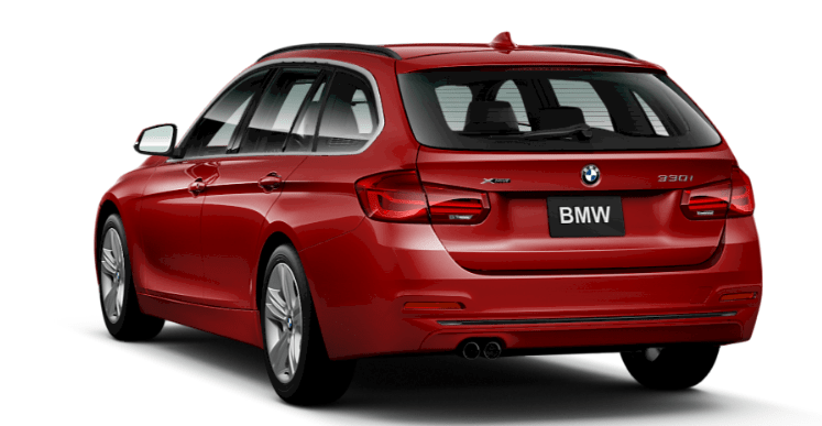 2017 BMW 330i xDrive Sports Wagon 's mighty inline 4-cylinder TwinPower Turbo. Displacing just 2.0 liters, this 248-hp marvel generates 258 lb-ft of torque at just 1,450 rpm for potent thrust that kicks in right from the start and continues all the way up to 4,800 rpm. Lightweight and smooth-running, it incorporates BMW's award-winning High Precision Direct Injection, Valvetronic, and double-VANOS technologies.