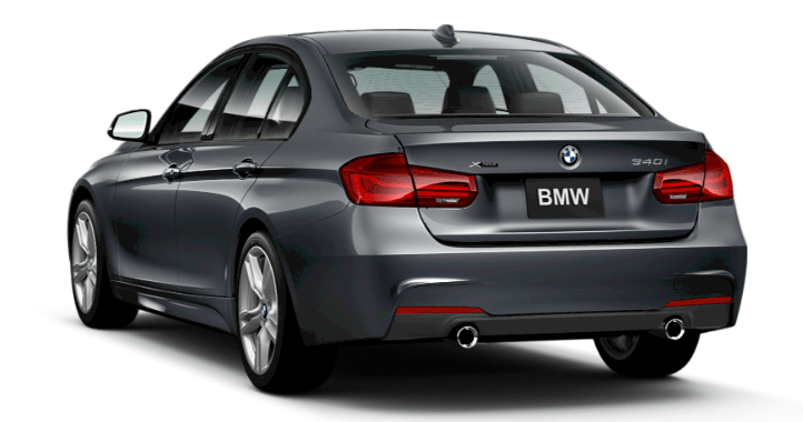 Working in tandem with Dynamic Stability Control, 2017 BMW 340i xDrive Sedan 's xDrive all-wheel drive system monitors the road's conditions. Once it senses excess slip, it smartly sends power to the wheel with the surest footing, improving traction and delivering neutral, responsive handling.