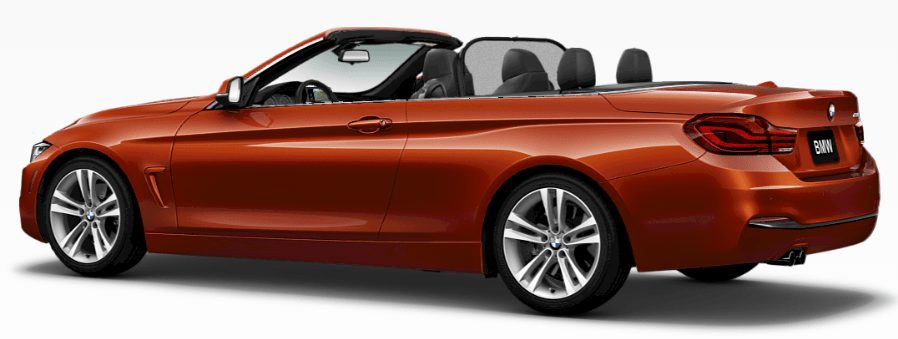 The 2017 BMW 430i Convertible boasts 13 cubic feet of trunk space. Compartments to the right and left of the main luggage area add room for small items, and the hardtop's thoughtful construction allows unimpeded access, even with the top down.