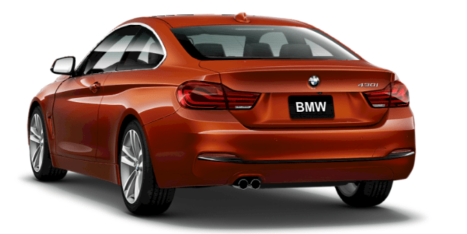 2017 BMW 430i Coupe 's mighty inline 4-cylinder TwinPower Turbo. Displacing just 2.0 liters, this 248-hp marvel generates 258 lb-ft of torque at just 1450 rpm, for potent thrust that kicks in right from the start and continues all the way up to 4800 rpm. Lightweight and smooth-running, it incorporates BMW's award-winning High Precision Direct Injection, Valvetronic and double-VANOS technologies.