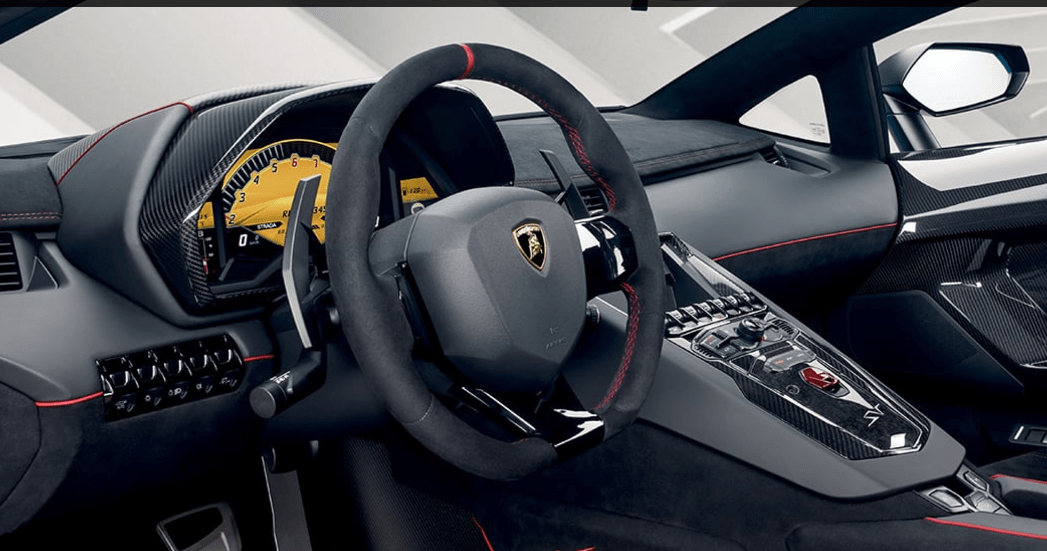 Discover the 2017 Lamborghini Aventador SV Roadster : what's new, its features and detailed technical specifications. The groundbreaking innovations we introduced with the Aventador marked the beginning of a new era for Lamborghini's iconic super sports cars. With the Aventador SV, we truly reinvented the concept, and with this model we have given it something more: the vanity of a Roadster.